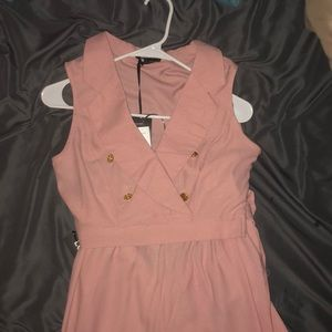 2 piece pink colored set